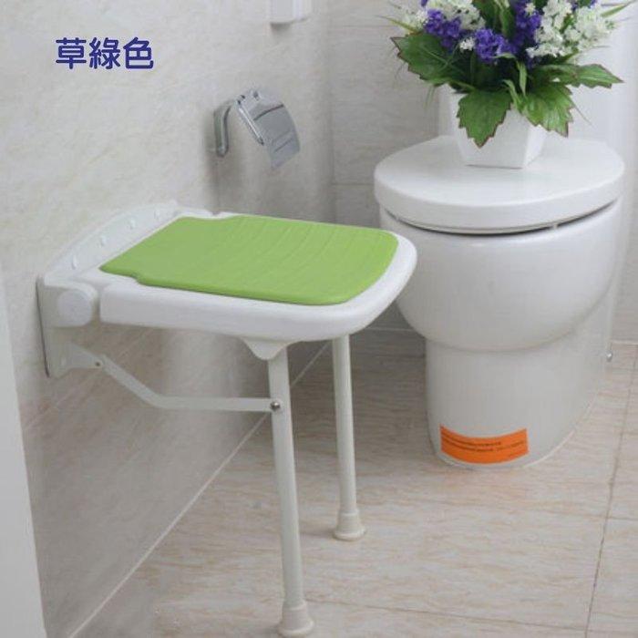 【奇滿來】老人防滑椅 淋浴椅凳 高45cm 耐重壁椅 穿鞋凳 收納椅 小凳子 可折疊椅 衛浴浴室座椅 照護 AYAL