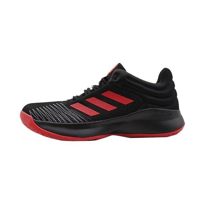【鞋印良品】ADIDAS 愛迪達 Pro Spark Low 耐磨 避震 實戰低筒藍球鞋 F99902 黑/紅 大尺碼