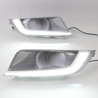 適用于福特ranger日行燈 RANGER改裝LED日間行車燈T6專用高亮霧燈
