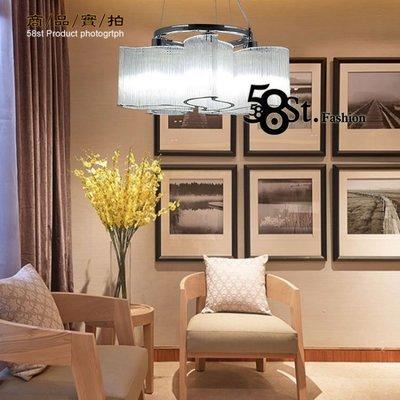 【阿拉神燈】5燈款「Glass deformed 玻璃管炫窩吊燈」美術燈。複刻版。GH-527