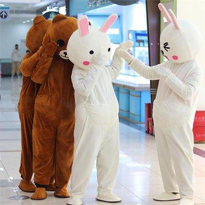 人偶服裝卡通人偶服裝人穿大熊貓發傳單行走人偶服裝玩偶衣服頭套服悠悠