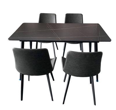 宏品二手家具館 全新中古傢俱拍賣 EA912Gj*全新1桌4椅*客廳家具 沙發 茶几 新竹苗栗彰化戶外休閒桌椅 書桌椅