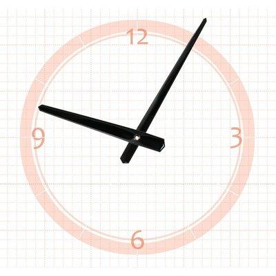 【鐘點站】 J150110  SKP壓針機芯 / 分針15公分 時針11公分 / DIY 時鐘 掛鐘 鐘針