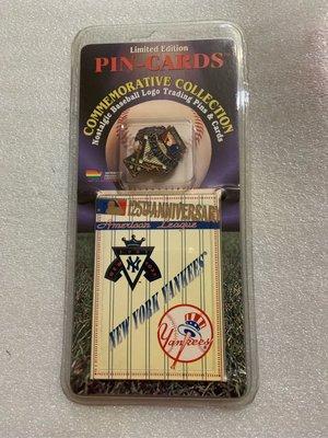 [美]MLB 1995 美國大聯盟 隊徽 徽章  NEW YORK YANKEES 洋基 出清
