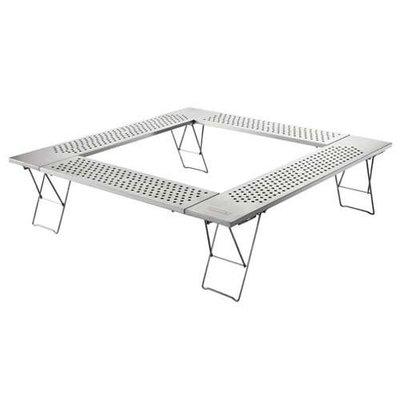 【山野賣客】Coleman 不鏽鋼圍爐桌 CM0397J