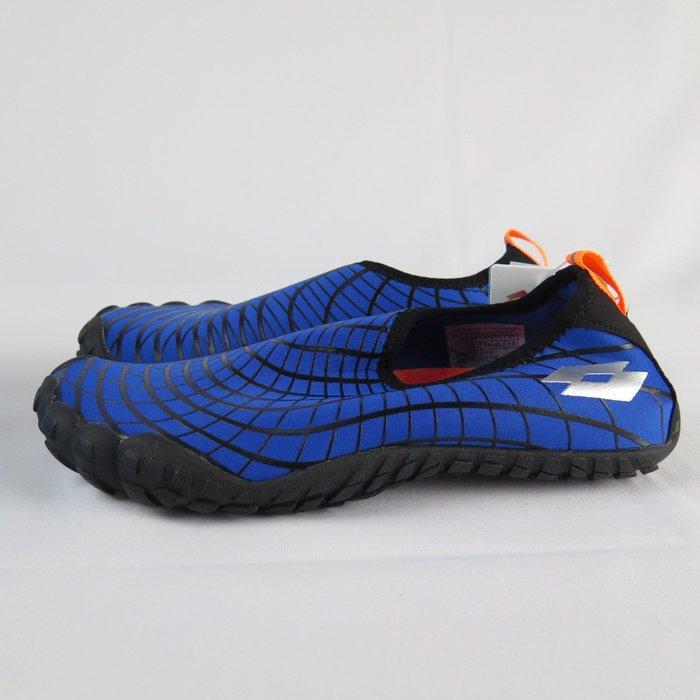 【iSport愛運動】LOTTO AQUWEAR 多功能 溯溪鞋 公司貨 LT9AMS0906 男款 藍
