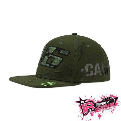 ♚賽車手的試衣間♚ VR46 Rossi 46 MONSTER CAMP ADJUSTABLE CAP 網帽 賽車帽