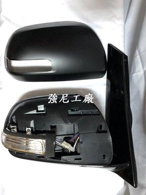 ☆☆☆強尼工廠☆☆☆全新 PREVIA 06 07 08 09 10年 電折 電動 LED方向燈 後視鏡 9P