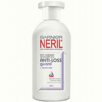 印尼 Garnier neril shampoo anti loss guard 卡尼爾洗髮精/1瓶/200ml