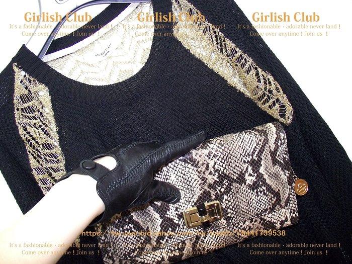 【Girlish Club】韓製zoomag拼接針織上衣吊牌價1280(m811)iroo貝爾尼尼羽絨外套二三一元起標