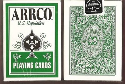 【USPCC撲克牌】ARRCO US regulation 撲克牌 綠