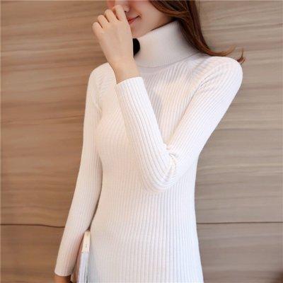 高领毛衣女打底衫2016秋冬新品韩版修身显瘦套头高领打底衫女毛衣