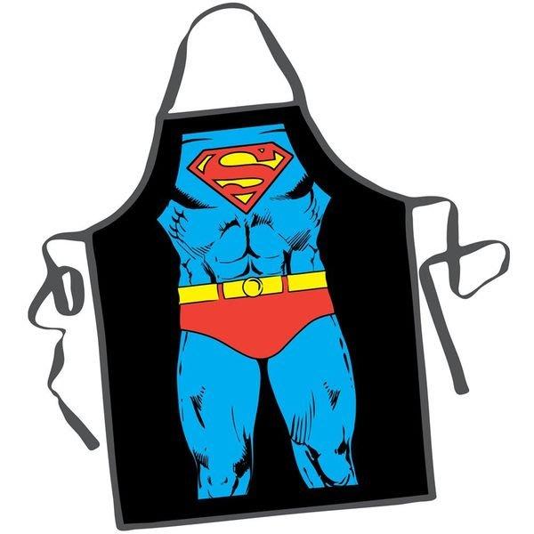 (I LOVE樂多)DC英雄系列超人圍裙 送禮自用兩相宜