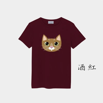 T365 MIT 親子裝 T恤 童裝 情侶裝 T-shirt 短T 貓 小貓 貓咪 喵星人 cat 喵喵 kitty 7