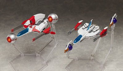 Figma SP-112 Thunder Force III及IV Fire Leo-03 STYX及04 RYNEX by GOODSMILE COMPANY