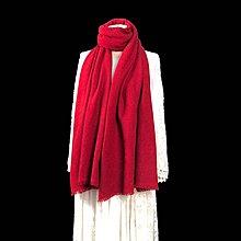 高級超柔軟茄士咩頸巾(Chinese red colour)