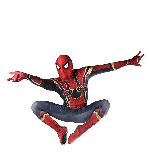 暖暖本舖 漫威蜘蛛人套裝 超凡蜘蛛 蜘蛛人全套裝 面具 蜘蛛人 面罩面具 整人面具 復仇者聯盟3 最新蜘蛛俠套裝 蜘蛛俠