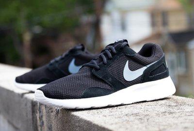 Nike KAISHI Run 654473-001黑白武士灰勾DRS透氣輕量麂皮尼龍網布跑鞋Roshe-run-one 台北市