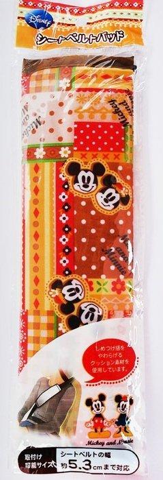 【小糖雜貨舖】日本 大創 雜貨 米奇米妮 安全帶 護套