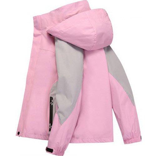 防風防雨外套 四季男女可拆式修身流線拼色身加厚三合一衝鋒衣滑雪保暖外套 艾爾莎【TAE8219】