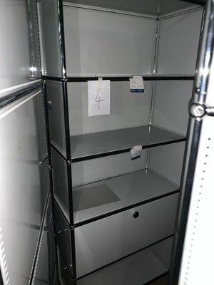 瑞士進口 設計師傢俬 5層鋼櫃組合書櫃 USM Haller Modular highboard storage unit Designer Furniture