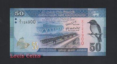 【Louis Coins】B369-SRI LANKA--2010斯里蘭卡紙幣50 Rupees
