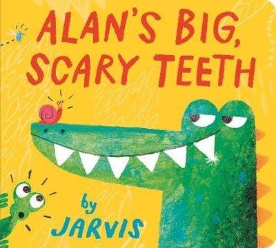 *小貝比的家*ALAN'S BIG SCARY TEETH/硬頁/3-4歲小班/品格教育
