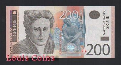 【Louis Coins】B404-SERBIA--2011塞爾維亞紙幣200 Dinara