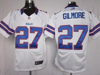 NFL橄欖球球衣精英版Buffalo Bills 布法羅比爾 27# GILMORE ycwk608