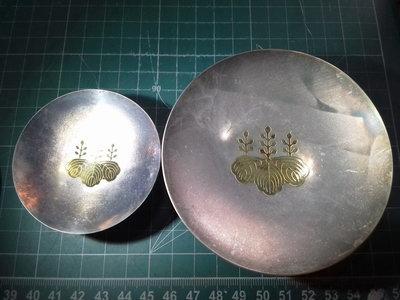 [彭友的家] 日本純銀杯 造幣局製 100g 共箱付 早期桐木鍍金版