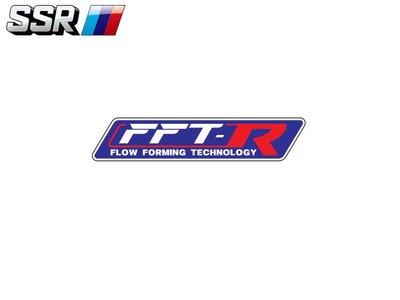 【Power Parts】SSR FFT-R 貼紙 PARTS249R
