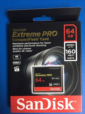 SanDisk Extreme Pro Compact Flash Card 64GB SDCFXPS-064GB