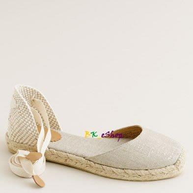 【美衣大鋪】 jcrew ☆ J.Crew 正品☆Sardinia espadrilles  美綁帶鞋