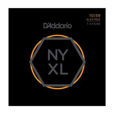 【成功樂器】D'Addario NYXL 1059 Nickel Wound 七弦 電吉他弦