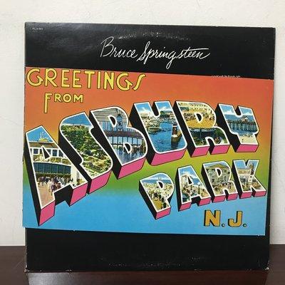 晨雨黑膠【西洋】※搖滾500大※美版/Bruce Springsteen–Greetings From Asbury