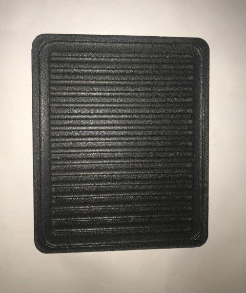烤肉陶瓷盤-表面無塗層無框 (可當 石板烤肉 木炭烤肉 烘焙石板 烤肉爐 烤肉架)