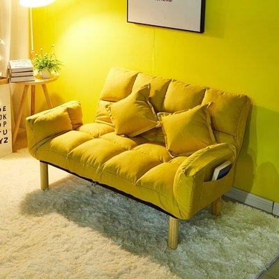 推薦 懶人沙發床 雙人小戶型陽臺小沙發 可折疊沙發床 臥室單人沙發床 榻榻米沙發床