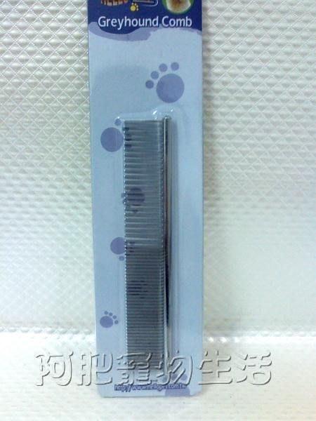 【阿肥寵物生活】台灣Hello Pet疏密兩用大排梳 -17#/犬˙貓皆適用