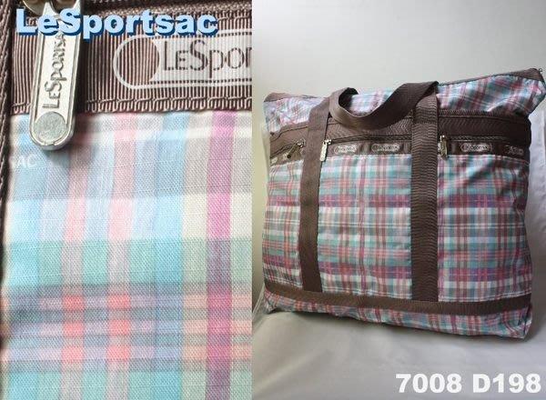 【LeSportsac】100% 全新正品 7008 D198 / SKIPPIDY 超大容量 側肩包 托特包 旅行袋 媽媽包