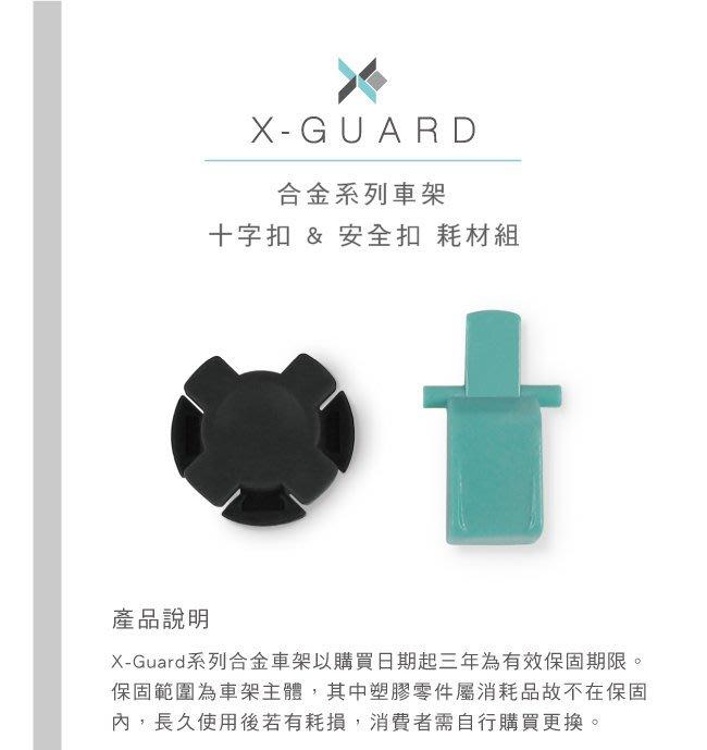 Intuitive Cube X-Guard 系列 合金系列車架「十字扣 & 安全扣」耗材組