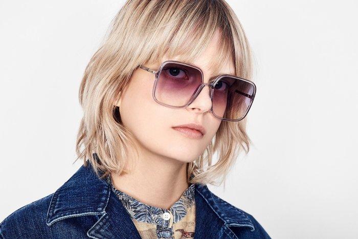 CC Collection 代購 Dior SoStellaire1 19FW 秋冬新色 復古方型大框太陽眼鏡/墨鏡