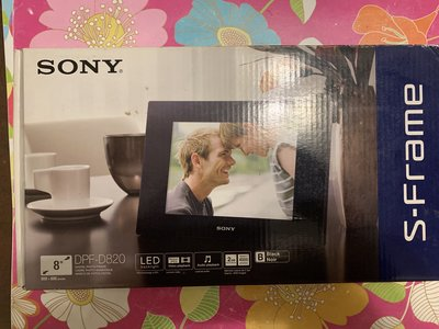 SONY   全新數位相框 DPF-D820 S-Frame