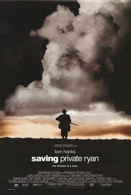 經典收藏- 搶救雷恩大兵 (Saving Private Ryan)- 美國原版雙面電影海報(1998年預告版)