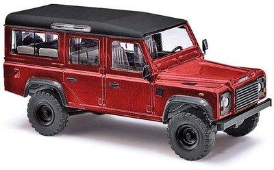 傑仲 博蘭 公司貨 BUSCH Land Rover Defender Metallica Rot 50353 HO