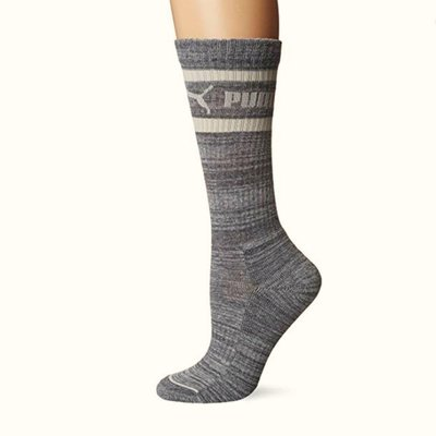 (搬家大出清)全新 PUMA 淺灰色中統運動襪。尺寸9-11碼(適合鞋尺寸3.5~9.5碼)零售價美金10元。 愛迪達 stella M...