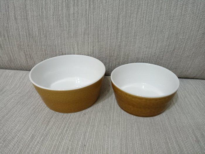 天使熊雜貨小舖~miyama 美濃燒陶瓷碗  甜點碗 (大) 全新現貨