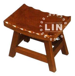 【品特優家具倉儲】P756-10餐椅矮凳板凳古椅1尺