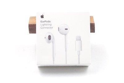 特價【原廠盒裝公司貨】 【免運】Apple Lightning 8 pin雙耳線控原廠耳機