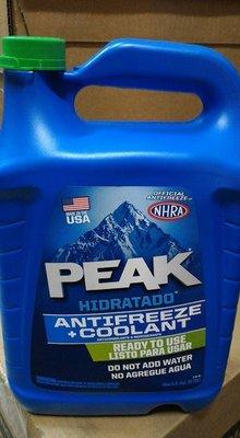 【高雄阿齊】PEAK 美國原裝進口 長效型水箱冷卻液  50% 水箱精 3.78公升
