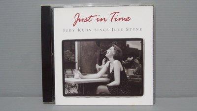 茱蒂蔻兒Just in Time: Judy Kuhn Sings Jule Styne 原版CD美 保證讀取 有歌詞